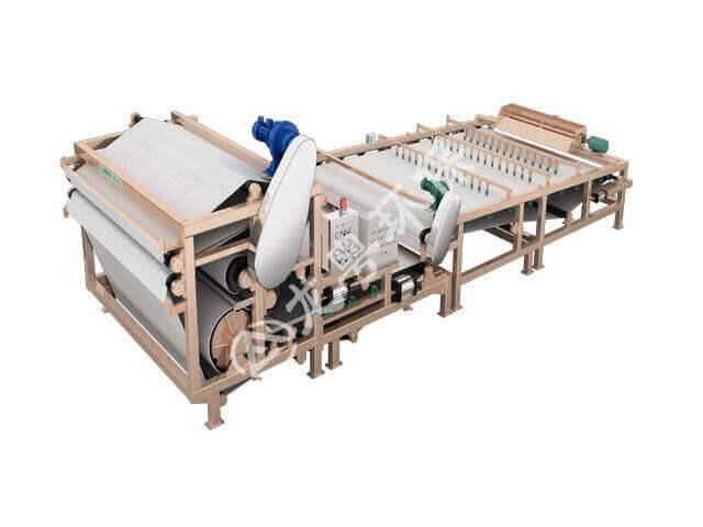 重型分体式带式污泥脱水机